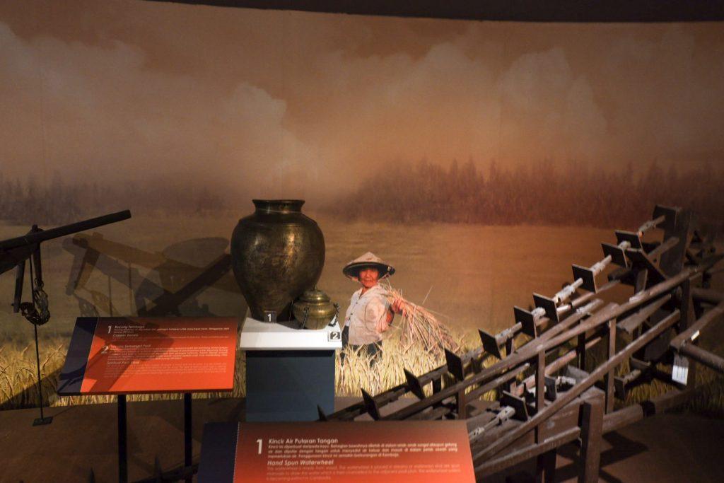 Displays of paddy culture in Kedah Alor Setar